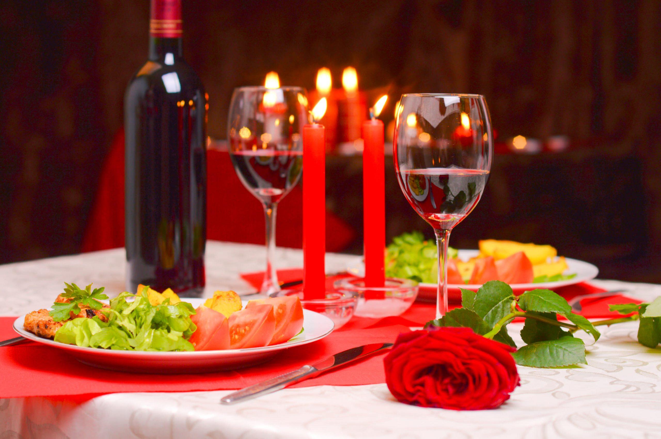 Закуски для романтического ужина