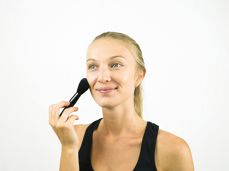 Бронзатор с чего начинать макияж
