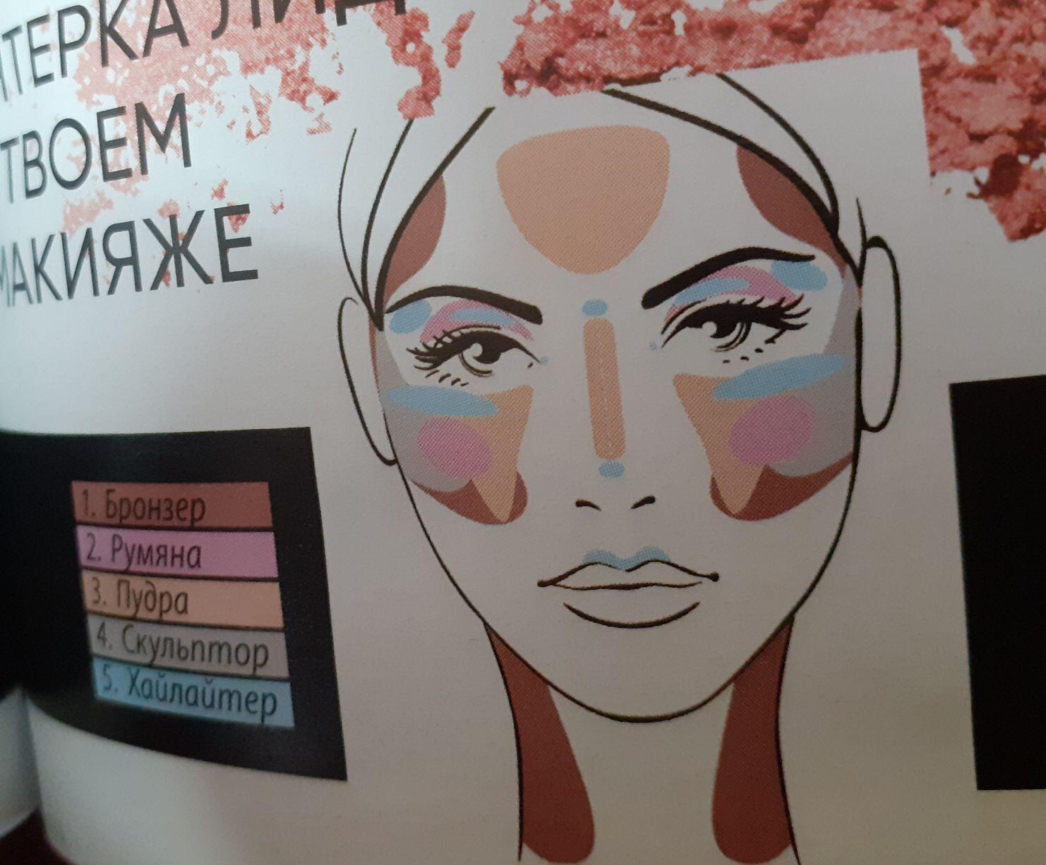Палета макияж