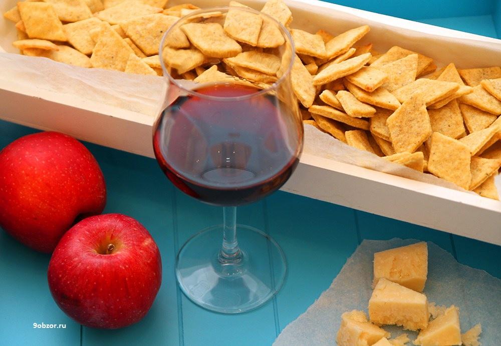 закуски для романтического ужина сырное печенье