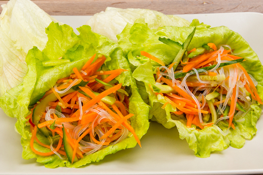 летний острый салат