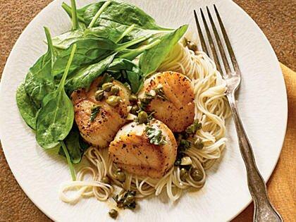 рецепты блюд из морепродуктов пикката