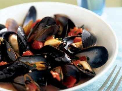 рецепты из морепродуктов мидии