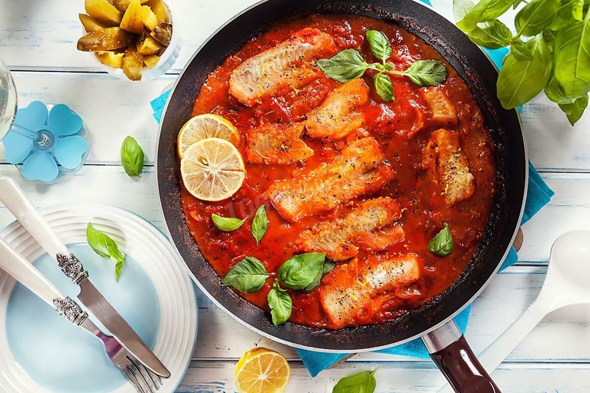 рецепты жареной форели