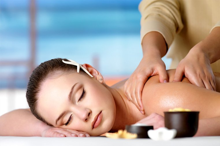 как делать точечный массаж спины