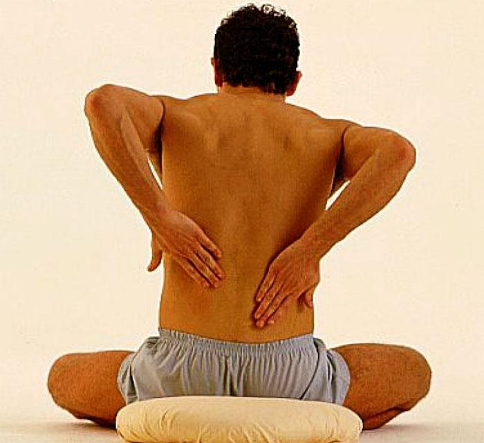 самостоятельный массаж спины