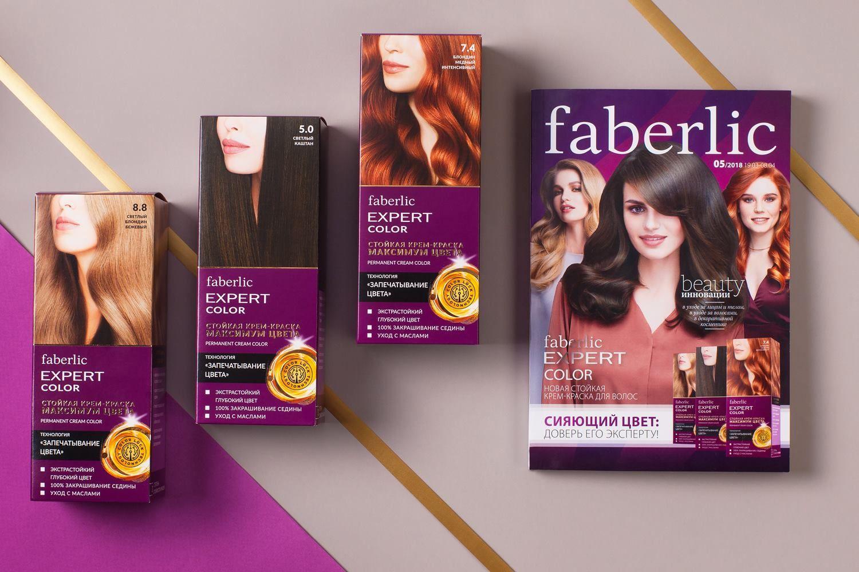 краски для волос от Фаберлик
