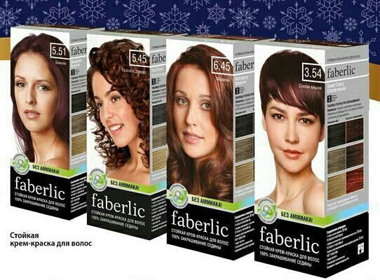 преимущества краски для волос