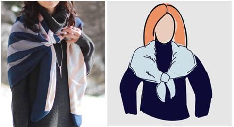 шаль платок