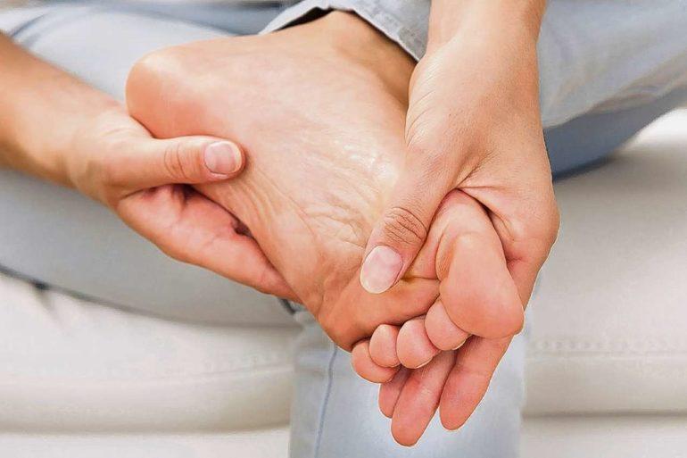 точки на ногах для массажа