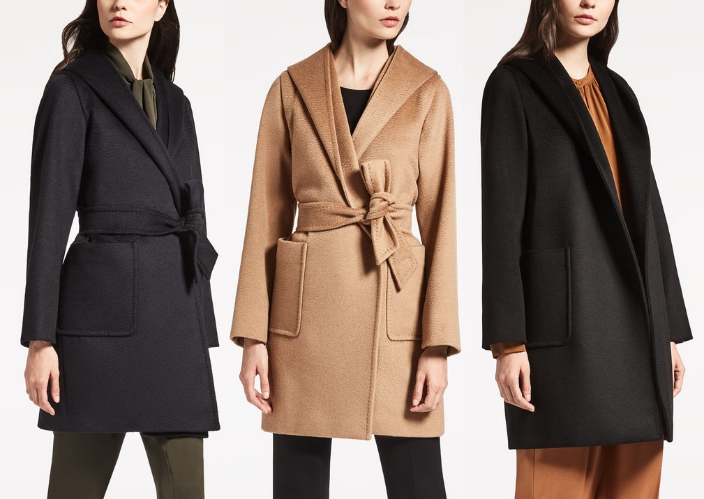 завязать пояс красиво на пальто