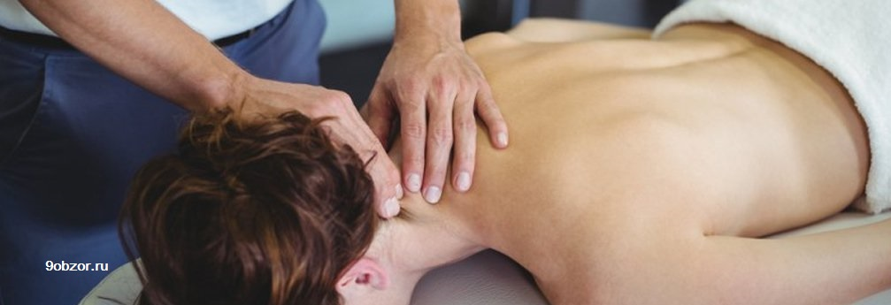 как делать массаж шейно-воротниковой зоны