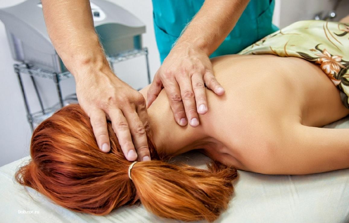 массаж шейного отдела позвоночника при остеохондрозе