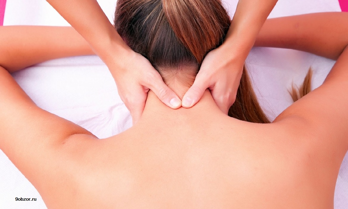 массаж шеи при остеохондрозе