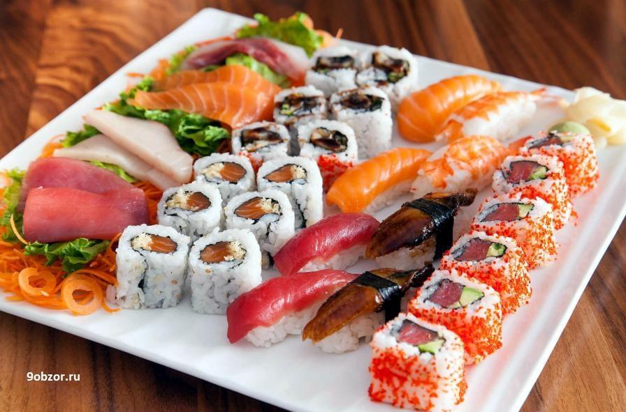 приготовить суши самому дома