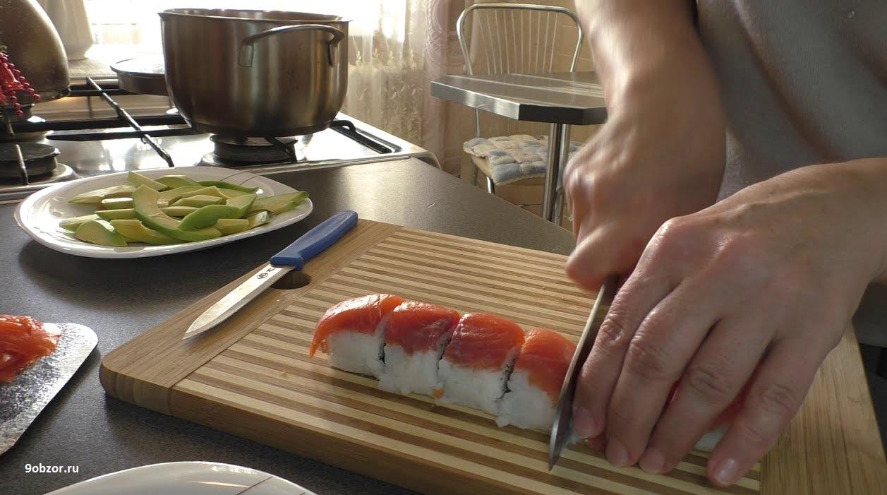 секреты приготовления суши самому дома