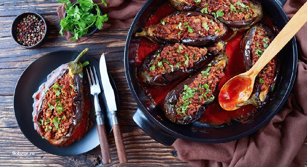теплый салат с баклажанами рецепты